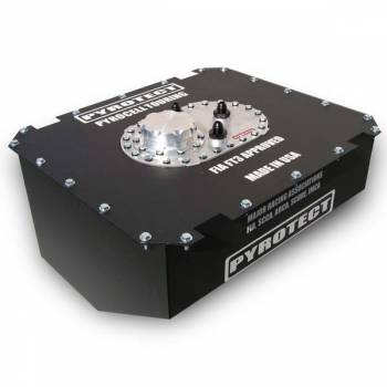 "Pyrotect Fuel Cells - Pyrotect PyroCell Touring Series Fuel Cell - 12 Gallon - 20.75"" L x 17.87"" W x 9.5"" H"