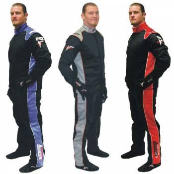 Velocity 5 Multi-Layer Race Suits - 2 Piece Design - SFI 3.2A/5 Certified