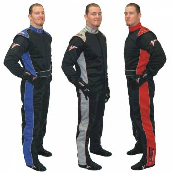 Velocity 5 Multi-Layer Auto Racing Suits - SFI 3.2A/5 Certified