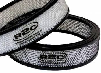 "R2C Performance Products - R2C Performance Competition Series Air Filter - Asphalt - 14"" x 3"""