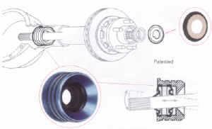"Seals-It - Seals-It 2.625"" O.D. Inner Axle Seal"