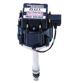 Performance Distributors D.U.I. - D.U.I. 602/604 Crate Motor Racing Distributor - Black Cap
