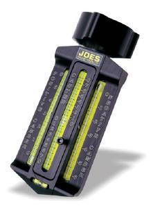 Joes Racing Products - JOES Caster Camber Gauge w/ Magnetic Adapter & Case