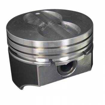 "KB Performance Pistons - KB Pistons Performance Hypereutectic Flat Top Pistons - SB Chevy 350 - 5.7"" Rod Length, .040"" Over Bore Size"