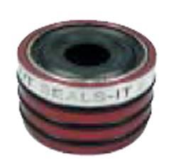 """Seals-It - Seals-It Torque Tube Seal - Red - 2.625"""" I.D."""