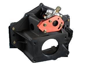 Sweet Manufacturing - Sweet Bellhousing Mount Aluminum Power Steering Pump w/ HTD Pully - 1,000 PSI