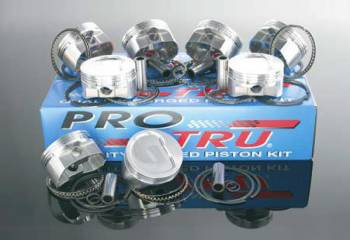 "ProTru by Wiseco - Wiseco ProTru Forged Piston- Dome Top - 4.165"" Bore - 3.750"" Stroke - 6.000"" Rod - Chevy 400"