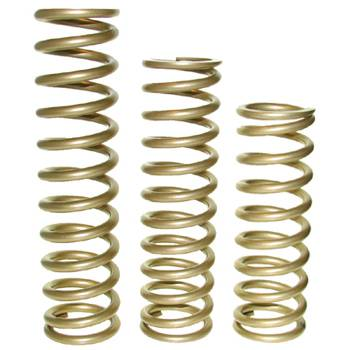 "Landrum Performance Springs - Landrum 8"" Gold Coil-Over Spring - 2.5"" I.D. - 400 lb."