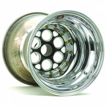 """Weld Racing - Weld Magnum Sprint Spline Inner Beadlock Wheel - Black Center - 15"""" x 15"""" - 42 Spline - 5"""" Back Spacing"""