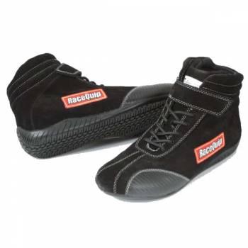 RaceQuip - RaceQuip Euro Ankletop Racing Shoes - Black - Size 4