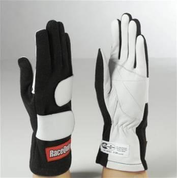 RaceQuip - RaceQuip Mod Gloves - Black - Medium