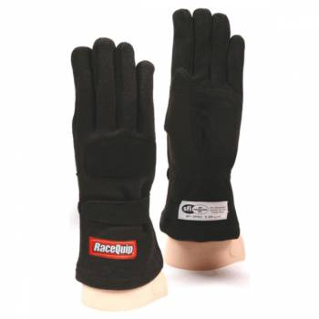 RaceQuip - RaceQuip 355 Nomex Driving Glove - Child Large - Black