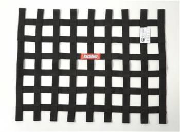 """RaceQuip - RaceQuip 18"""" x 24"""" Ribbon Window Net - Black"""