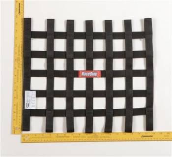 """RaceQuip - RaceQuip Ribbon Net - 15"""" x 18"""" - Black"""