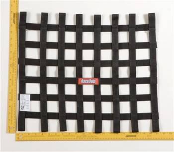 RaceQuip - RaceQuip Ribbon Net 18x21 SFI Black