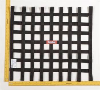 RaceQuip - RaceQuip Ribbon Net 21x24 SFI Black