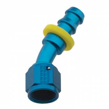 Fragola Performance Systems - Fragola Series 8000 Push-Lite Race Hose End -10 AN - 30°