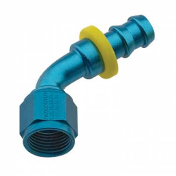 Fragola Performance Systems - Fragola Series 8000 Push-Lite Race Hose End -8 AN - 60°