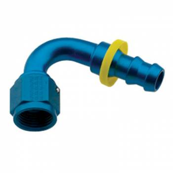 Fragola Performance Systems - Fragola Series 8000 Push-Lite Race Hose End -8 AN - 120°