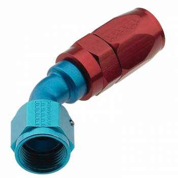 Fragola Performance Systems - Fragola Series 2000 Pro-Flow Race Hose End -8 AN - 45°