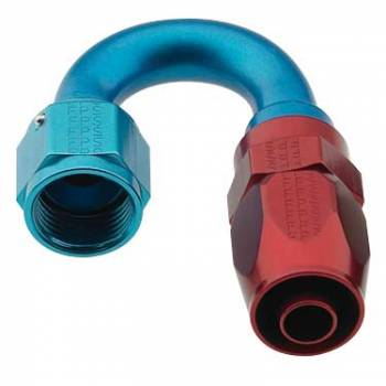 Fragola Performance Systems - Fragola Series 2000 Pro-Flow Race Hose End -8 AN - 180°