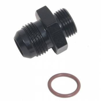 Fragola Performance Systems - Fragola AN Port O-Ring Adapter -6 AN x 7/8-14 (-10 AN) - Black