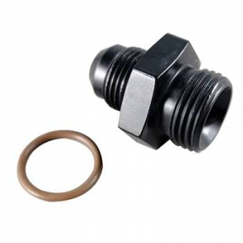 Fragola Performance Systems - Fragola AN Port O-Ring Adapter -4 AN x 3/8-24 (-3 AN) - Black