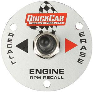 QuickCar Racing Products - QuickCar Remote Recall Switch Plate
