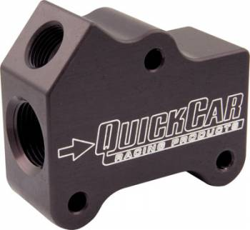 QuickCar Racing Products - QuickCar In-Line Temperature Port  - 10AN O-Ring Boss