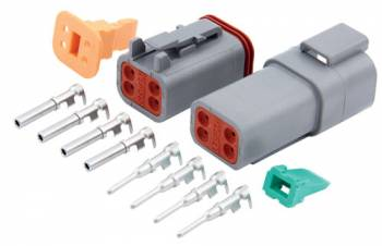 QuickCar Racing Products - QuickCar 4 Pin Deutsch Connector Kit