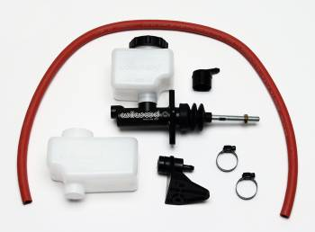 "Wilwood Engineering - Wilwood Compact Remote Combination Master Cylinder Kit w/ Short Remote Reservoir - 13/16"" Bore"