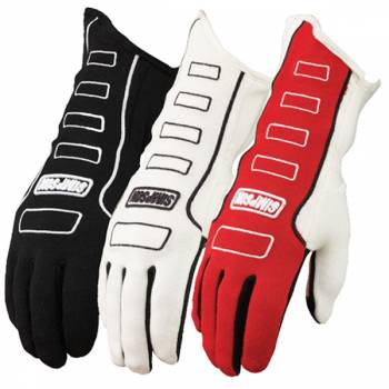 Simpson Competitor Auto Racing Gloves 21300