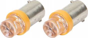 QuickCar Racing Products - QuickCar LED Light Bulbs - Amber - (Set of 2)