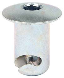 "Allstar Performance - Allstar Performance Steel Oval Allen Head Fasteners - 7/16 "" x .550"" - (50 Pack)"