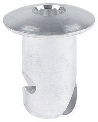 "Allstar Performance - Allstar Performance Aluminum Oval Allen Head Fasteners - 7/16 "" x .500"" - (10 Pack)"