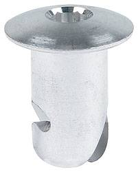"Allstar Performance - Allstar Performance Aluminum Oval Allen Head Fasteners - 7/16 "" x .500"" - (50 Pack)"