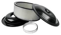 "Allstar Performance - Allstar Performance 14"" Air Cleaner Kit With Paper Element - 5"" - Black"