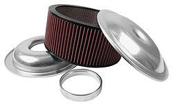 "Allstar Performance - Allstar Performance 14"" Air Cleaner Kit With Washable Element - 6"" - Plain"