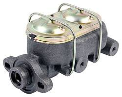 "Allstar Performance - Allstar Performance Corvette Style Cast Iron Master Cylinder - 1"" Bore - 3/8"" Ports"