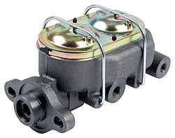 "Allstar Performance - Allstar Performance Corvette Style Cast Iron Master Cylinder - 1"" Bore - 1/2"" and 9/16"" Ports"