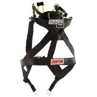 Kids Race Gear - Kids Head & Neck Restraints - Simpson Race Products - Simpson Hybrid Sport Head & Neck Restraint w/ SAS - SFI Approved