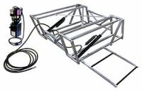 Jacks, Stands & Car Lifts - Car Lifts - Allstar Performance - Allstar Performance Aluminum Frame Race Car Lift And Pump