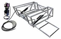 Car Lifts and Components - Car Lifts - Allstar Performance - Allstar Performance Aluminum Frame Race Car Lift And Pump