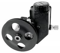 Power Steering Pumps - Steel Power Steering Pumps - Allstar Performance - Allstar Performance Power Steering Pump Pulley w/ Reservoir