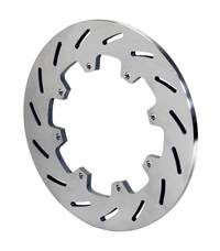 Brake Rotors - Wilwood Rotors - Super Alloy Slotted Titanium Rotors