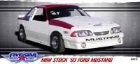 Mini Stock - Mini StockBodies - Five Star Race Car Bodies - Five Star 93 Ford Mustang Mini-Stock Steel Body Package