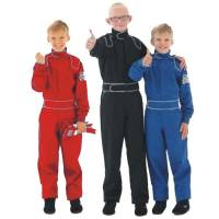 Junior Racing Suits - Crow Proban Junior Suits - Crow Enterprizes - Crow Junior 1 Layer Proban Driving Suit - 1 Piece Design