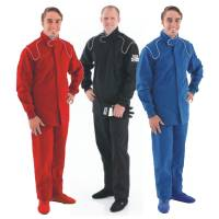 SFI-1 Rated Single Layer Suits - Crow Proban Suits - Crow Enterprizes - Crow Single Layer Proban® Driving Suit - 2 Piece Design