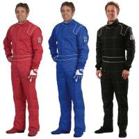 SFI-5 Rated Multi-Layer Suits - Crow Racing Suits - Crow Enterprizes - Crow Quilted Two Layer Proban® Driving Suit