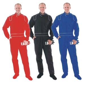 Racing Suits - SFI-1 Rated Single Layer Suits - Crow Proban Suits